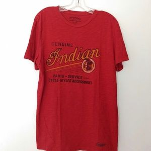 Lucky Brand Indian Motorcycle T-Shirt